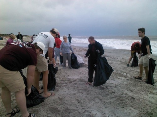 Oct 27 12 beach sweep