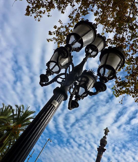 Street Lamps - Barcelona por Photogal 2009