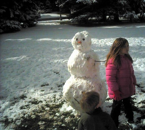 Aspen Snowman - Waiting for Right Arm