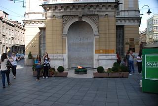 صورة  Eternal flame قرب  Kobilja Glava. sarajevo stadt balkan bosniaandhercegovina bosnienundhercegovina