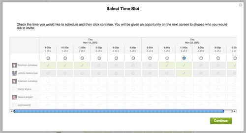 Wiggio Scheduler
