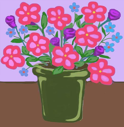 Bright Flowers by randubnick