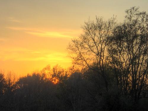 sunset urbana hdr