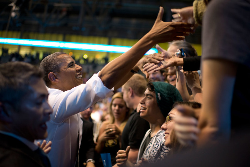 Barack Obama in Boulder - November 1st