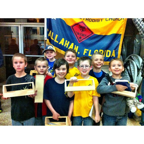 {thankful} that Jonah has found his niche. Cub Scouts is such a fulfilling activity for him.
