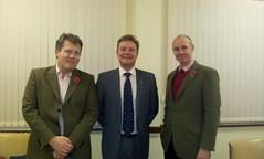 Adam Holloway, MP for Gravesham & Dan Hannan SEast MEP