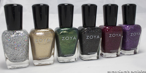 Zoya Ornate Holiday Collection