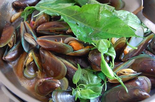 mussel soup Italian