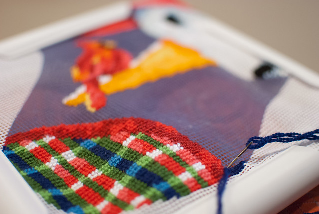 cross stitch stocking-2