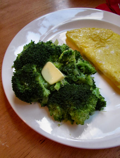 Broccoli with Butter