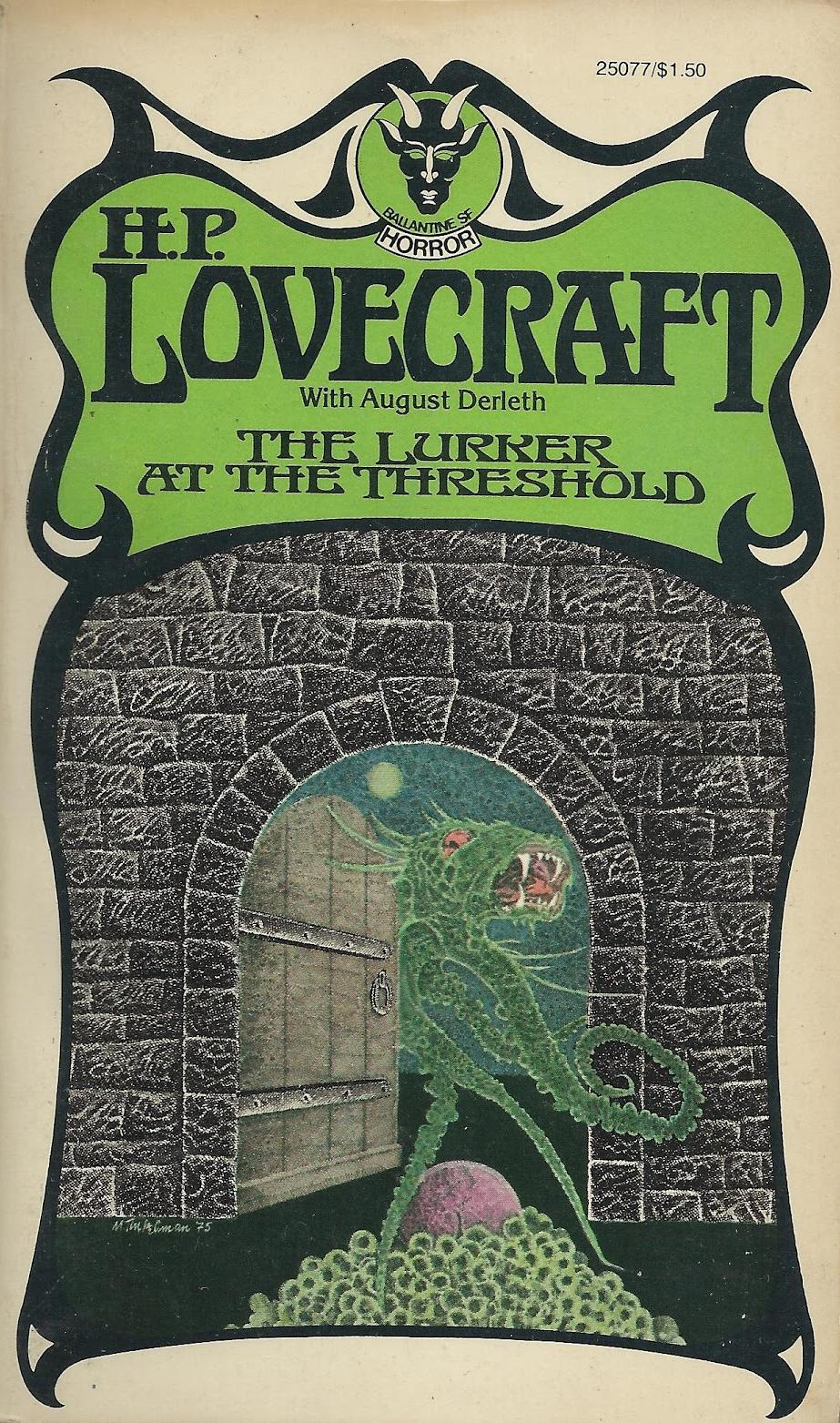 "Murray Tinkelman - Cover for H.P Lovecraft's ""The Lurker At The Threshold"""