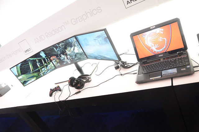 CES 2013 AMD Experience Zone