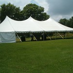 40x80 grs party tent side wall