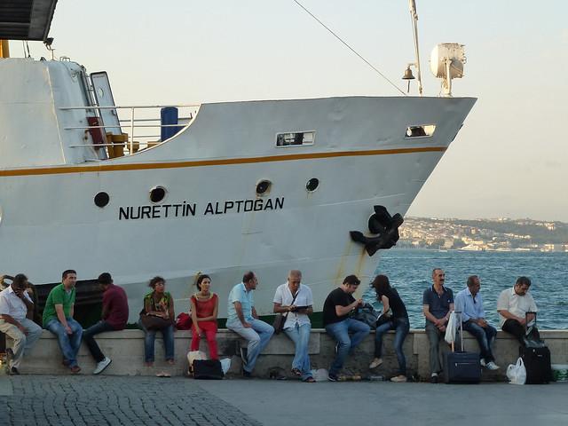 Turquie - jour 1 - Istanbul - 28 - Eminönü, Nurettin Alptogan Vapuru