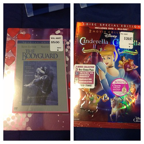 Picked up some new DVDs #newgoodies #disneymovies #thebodyguard #classics