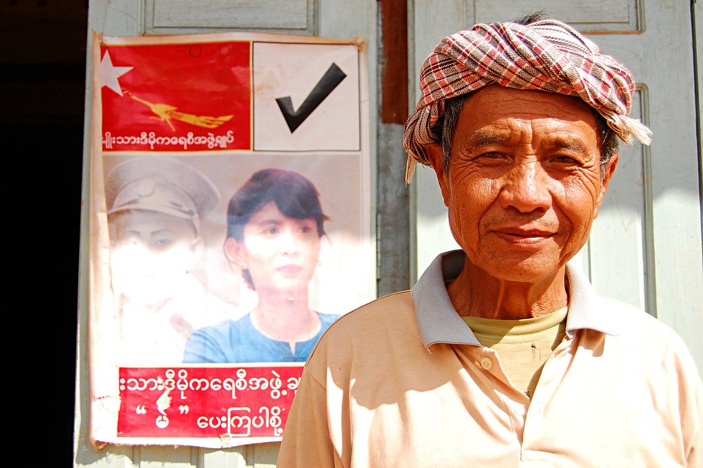 Village Chief, Kalaw to Inle Lake Trek, Burma