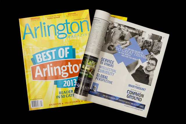 Common Ground: Arlington Magazine Ad