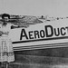 Small photo of Fran Bera in front of AeroDuct