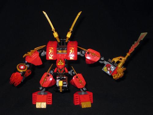 70500 Kai's Fire Mech front