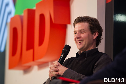 "DLD*13 conference Munich - ""Patterns that Connect""  - Germany  Jan2013 ©flohagena.com/DLD*13"