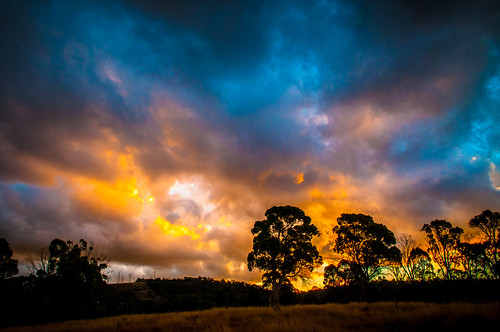 sunset clouds nikon tasmania lightroom d5000
