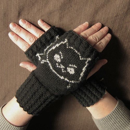 Dar's Mad Cat Handwarmers