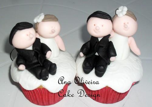 Cupcake Noivinho by Ana Oliveira Cake Design