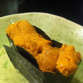 うにアンコール #sushi