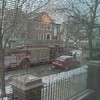 Chicago Fire Department here again for a malfunctioning building alarm. Of course we all are hanging out inside. One person admits leaving candle burning in her room to come out for the alarm. LOL?!?