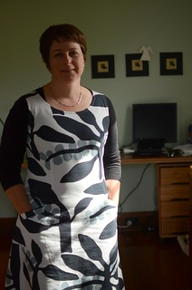 Pigeonhole Coffee Dress