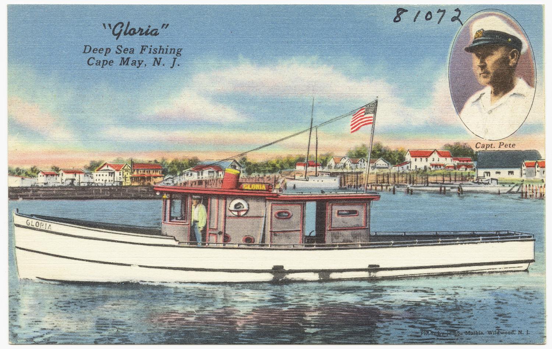 Gloria deep sea fishing cape may n j flickr for Deep sea fishing boston