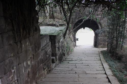 china sichuan traditionalarchitecture heritagesite yibin cityrivergate