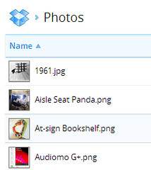 Dropbox Photo Preview