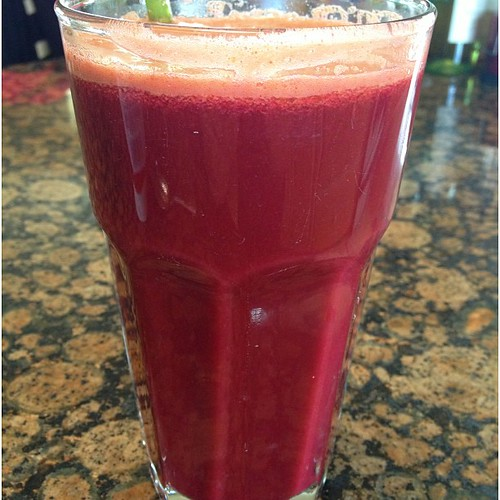 Favorite juice recipe #meangreen #beet #juicing #juice #health #healthy #diet #drink