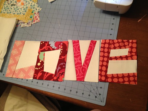 My first paper piecing project!