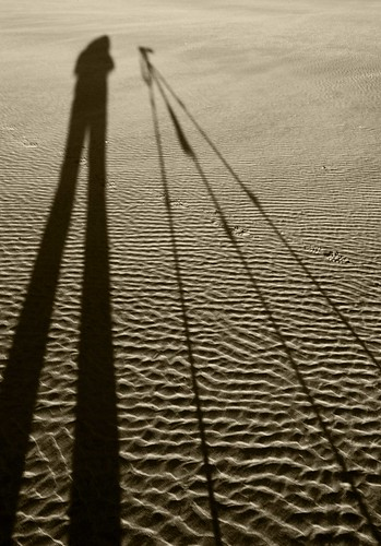 camera shadow sunrise giant mono bay three sand photographer cliffs gower ripples