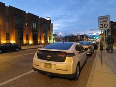 sports car(0.0), chevrolet(1.0), automobile(1.0), vehicle(1.0), automotive design(1.0), chevrolet volt(1.0), sedan(1.0), land vehicle(1.0),