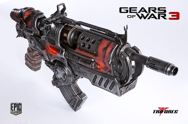 El arma de Gears of War más bestia jamás creada