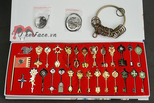 Bộ chìa khóa Lucy 25 chìa - Fairy Tail