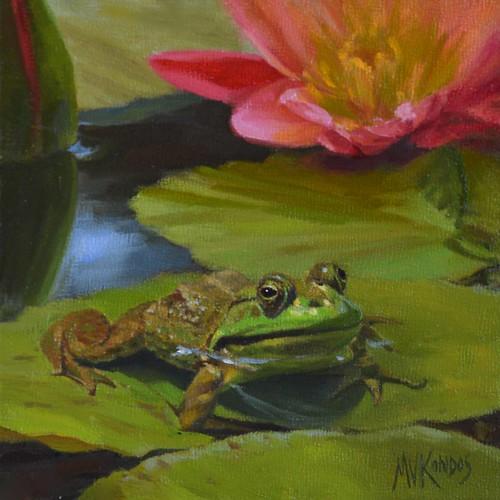 Monet's Frog #2