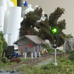 Mountain Line Depot with signal lit.