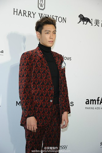 TOP - amfAR Charity Event - Red Carpet - 14mar2015 - smilesproduction - 08