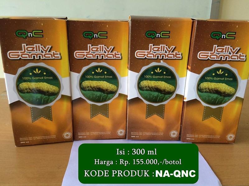 Obat Varikokel QnC jelly Gamat