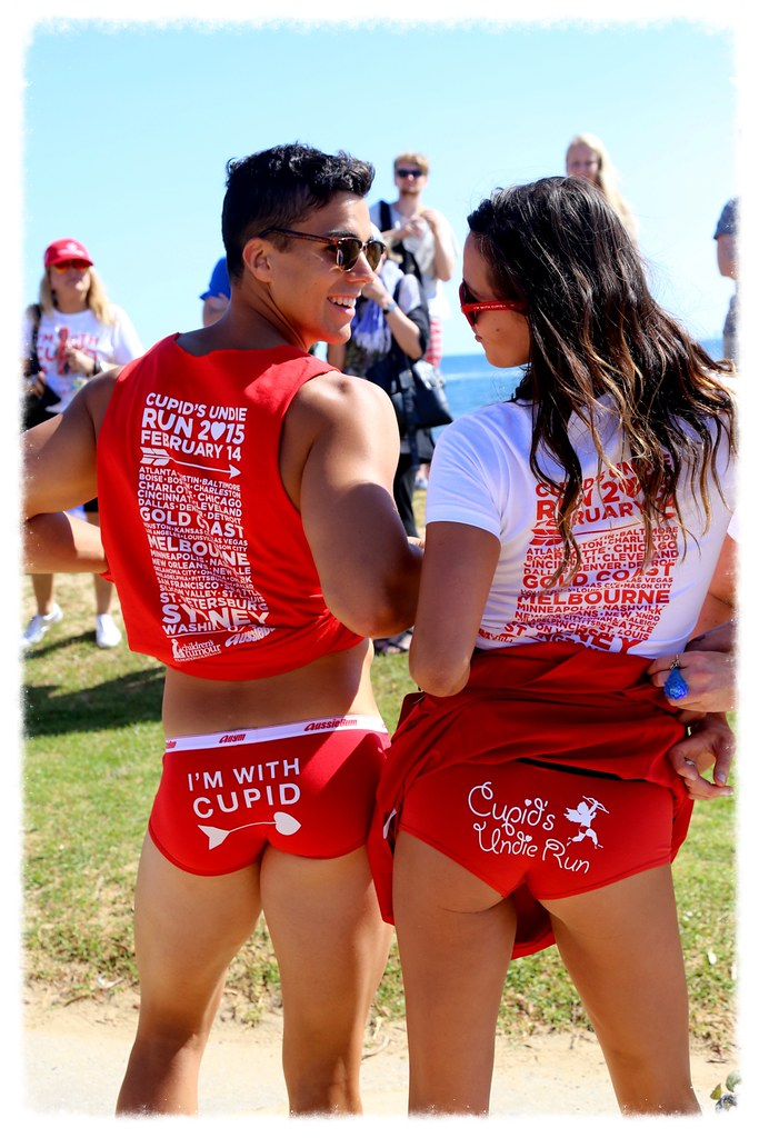 CUPID'S UNDIE RUN ST KILDA MELBOURNE ©