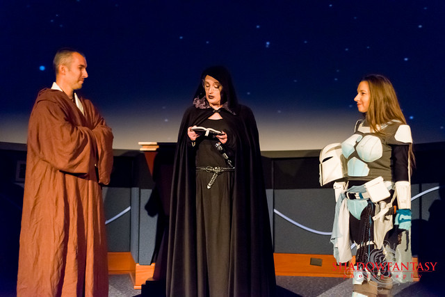 Vow Renewal Star Wars Style