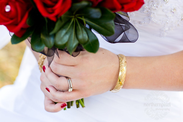 Ring, bouquet, bracelet, bridal