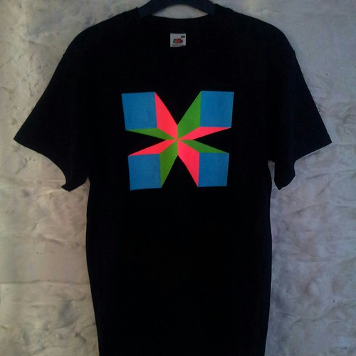 Hand painted tee (medium) by Carl Cashman