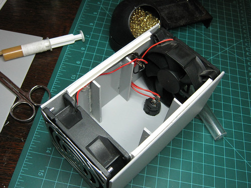 DIY fume extractor