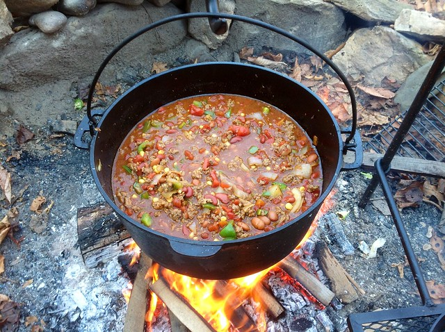 8155408982 9b190ed37b for How to cook in a dutch oven over a campfire