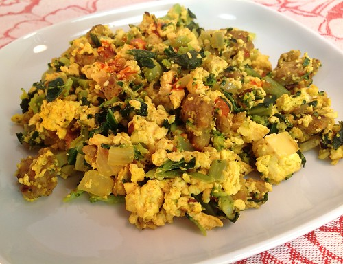 The Vegg Tofu Scramble